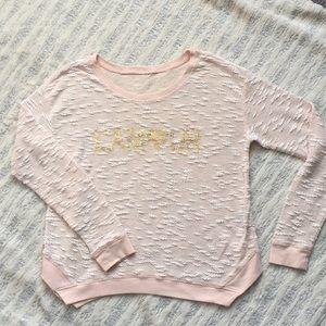 Lightweight pullover sweatshirt by Jessica Simpson